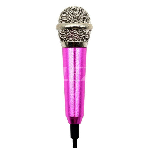 Mini 3.5mm Handheld Wired Microphone  for Smartphone-Tablet-Laptop-PC