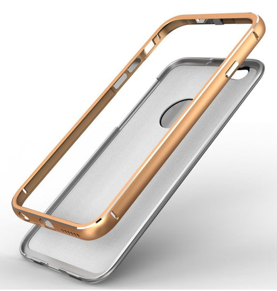 Luxury Aluminum and Tempered Glass Phone Back Cover