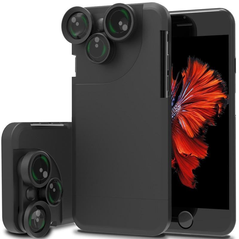4-in1 Lens Phone Back Cover