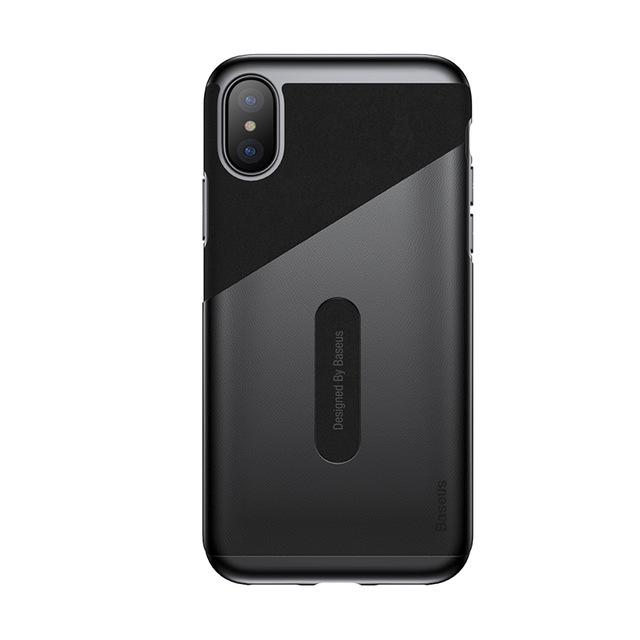 iPhone X Slim Leather Case with Card Slot
