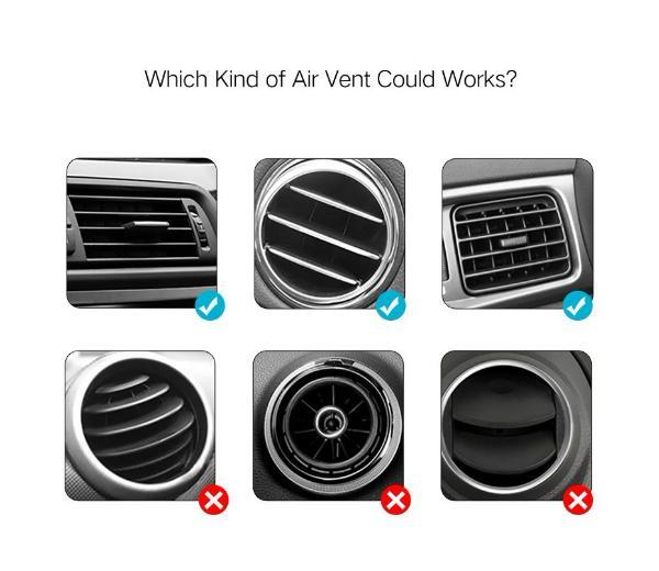 Air Vent Mount Phone Holder