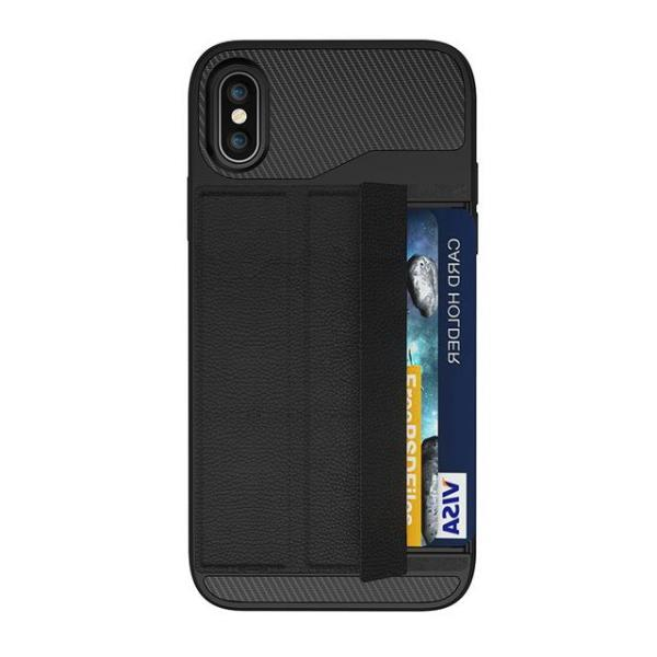 Card Holder Phone Case Stand for iPhone X