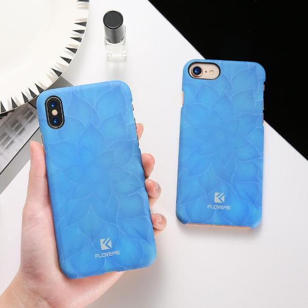 3D Luminous Lotus iPhone Case
