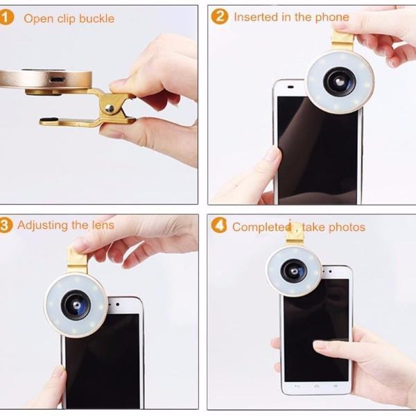 6in1 Phone Lens Kit
