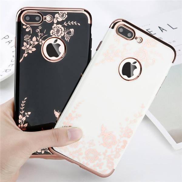 Luxurious Rose Gold iPhone Case