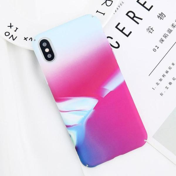 Gradient Matte Print iPhone Case