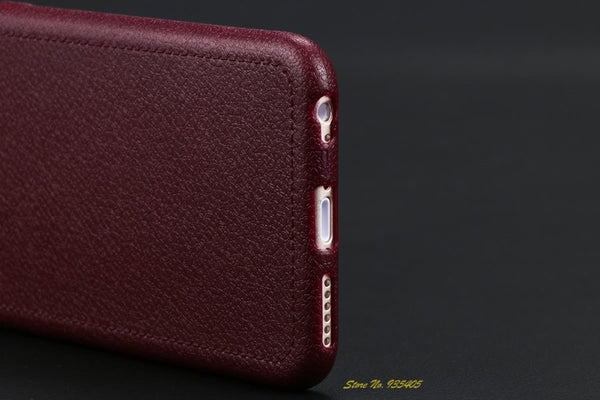 Super Thin Leather Back Case