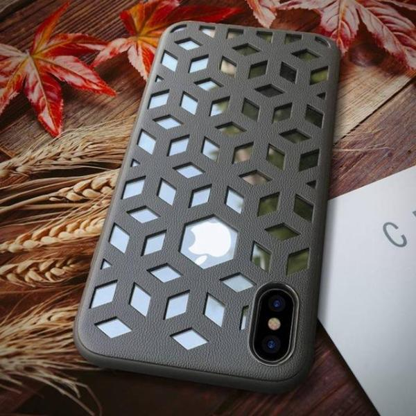 3D Snowflake iPhone Case