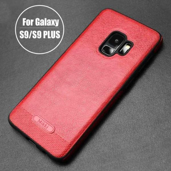 Full Grain Leather Galaxy Back Case