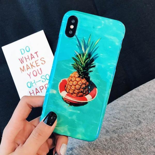 Cute Summer Fruit iPhone Case