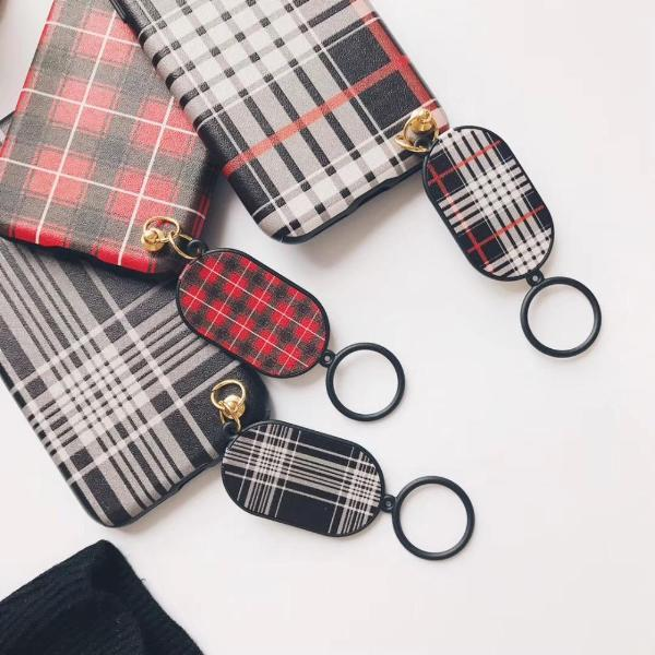 Checkered Print iPhone Case