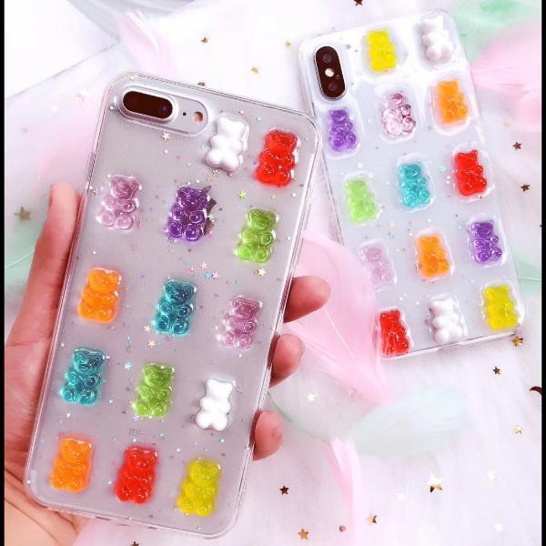3D Gummy Bears iPhone Case