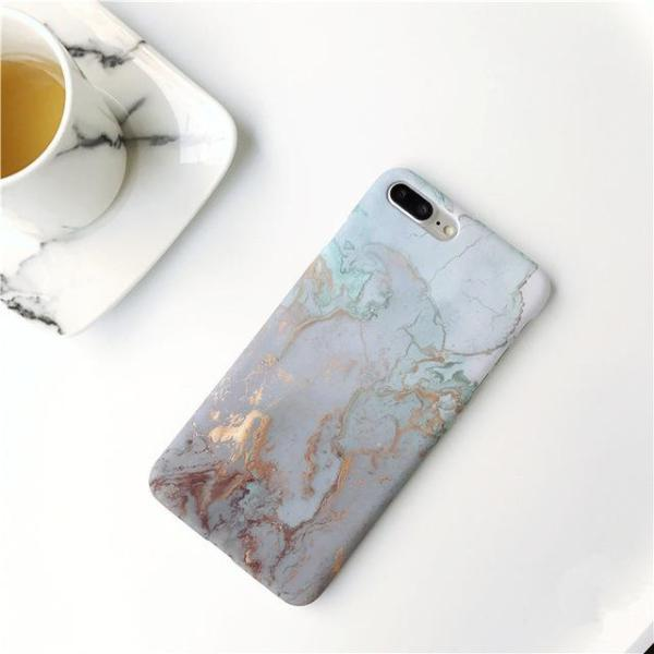 Gold Stone iPhone Case