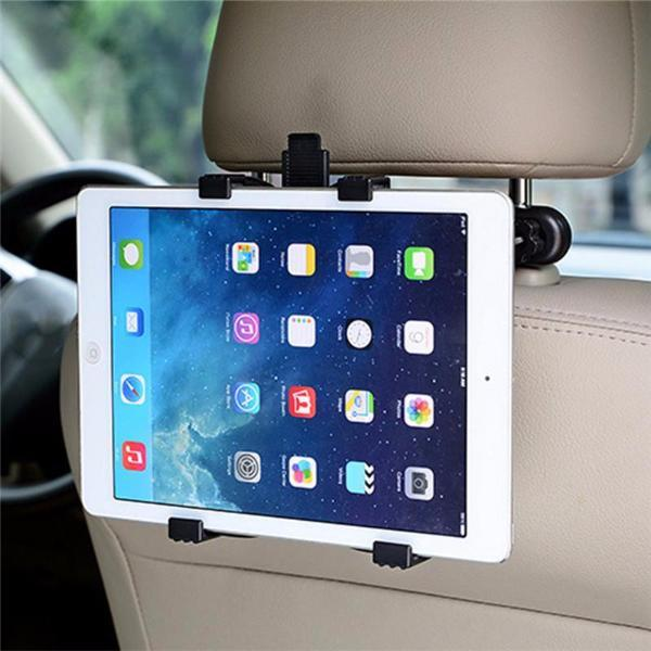 Back Headrest Tablet Holder