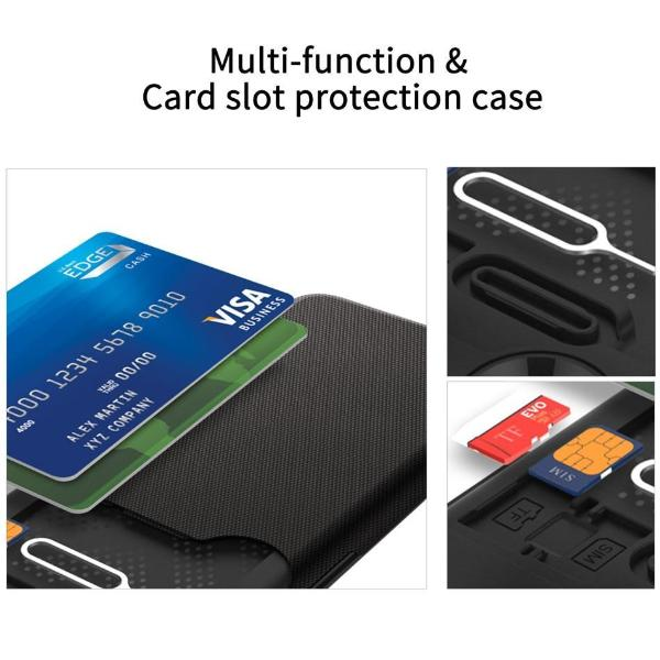 Business Matte Wallet Case