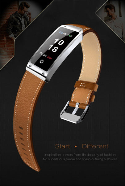 2019 New KWIK Y2 Blood Pressure/Heart Rate Monitor Leather Band