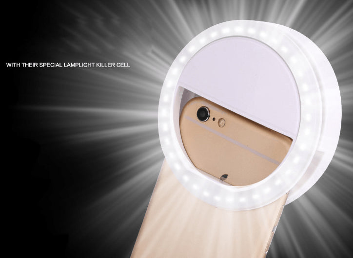 Light Up Selfie Luminous Ring