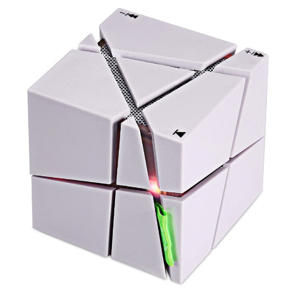 Geometric LED Light Subwoofer Speaker