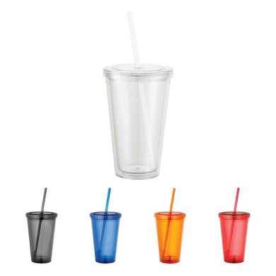 Double Wall Acrylic Tumbler 16 oz.