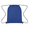 Heathered Non-Woven Drawstring Backpack