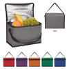 Heathered Non-Woven Cooler Lunch Bag