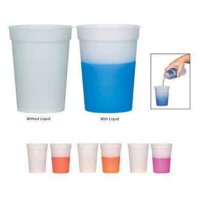 Color Changing Stadium Cup 16 oz.