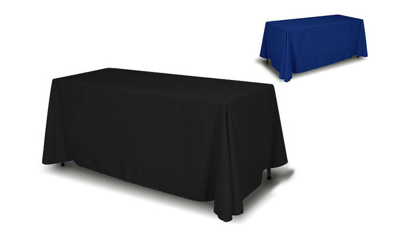 8' 4-Sided Table Cover (Full Back)