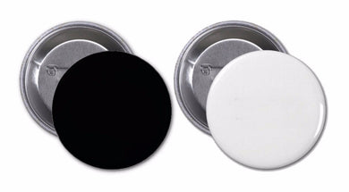 Buttons with Black or White Imprint