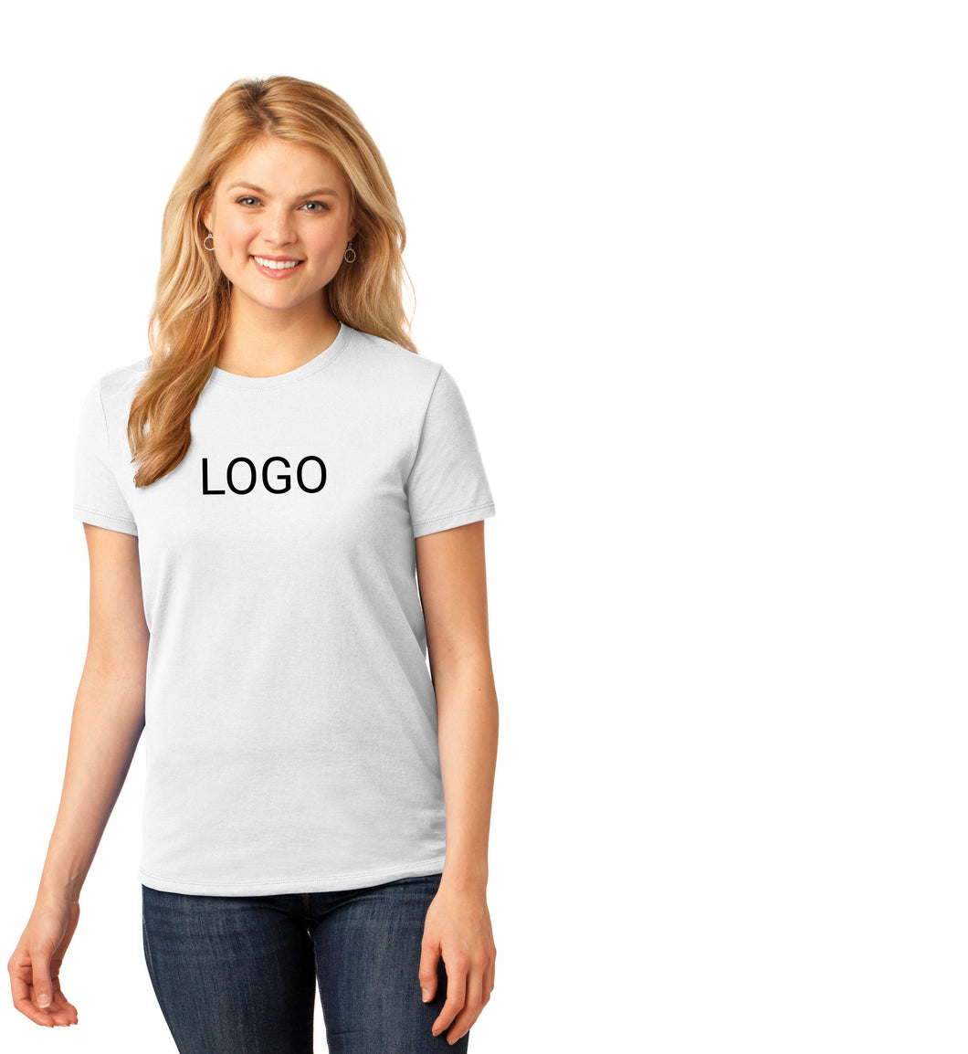 Classic T-Shirts - White Ladies (2 Location Imprint)