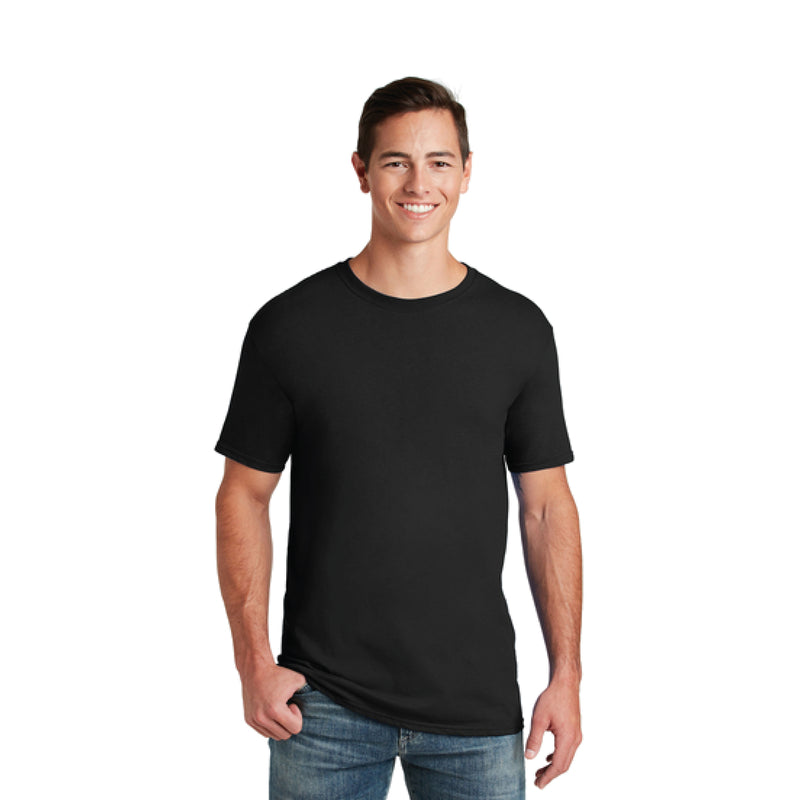 LIKE IT Fruit of the Loom® 5.0 oz 100% Cotton Black T-Shirt