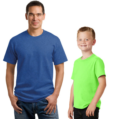 Classic Color T-Shirts with 2 Location Imprint