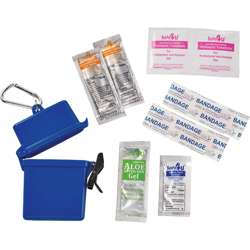 8-Piece Waterproof First Aid Kit