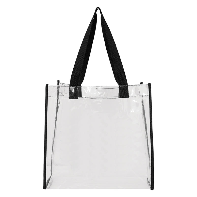 Basic Clear Open Tote (sold in sets)