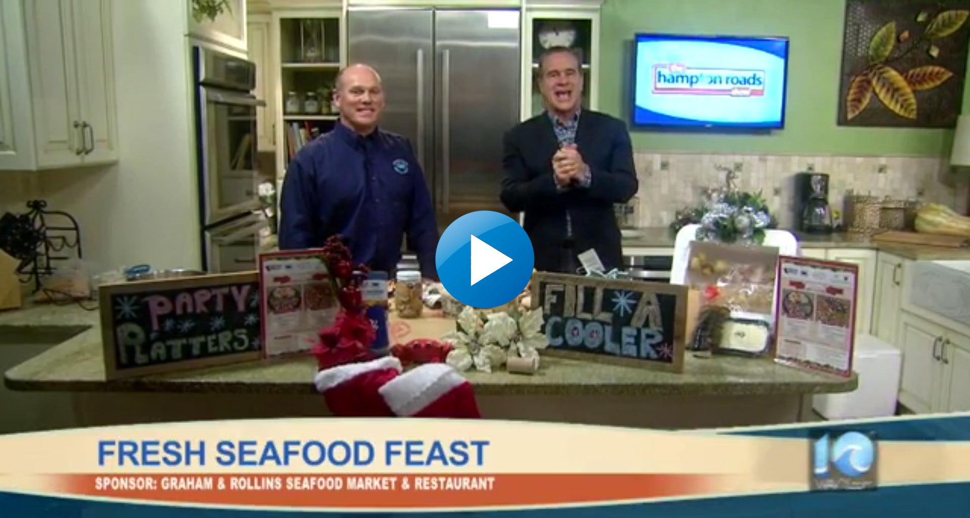 A Holiday Seafood Feast