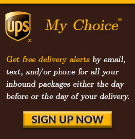 UPS My Choice Sign Up