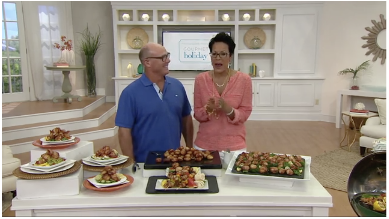 QVC - 3 lbs. Bacon Wrapped Scallops