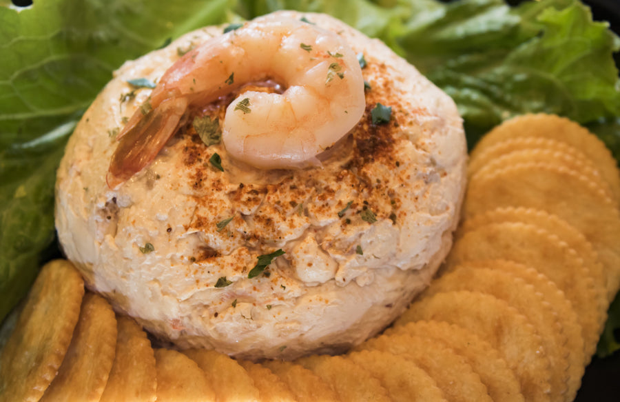 Shrimp Seafood Cheese Ball Holiday