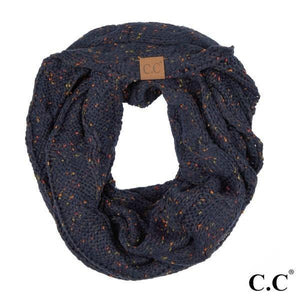 CC Cable Knit Confetti Scarf - - - Accessories, Scarves - Cultured Cloths Apparel
