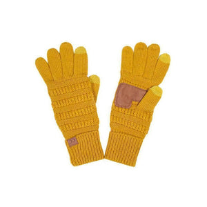 C.C Solid Color Gloves - - - Accessories, Gloves - Cultured Cloths Apparel