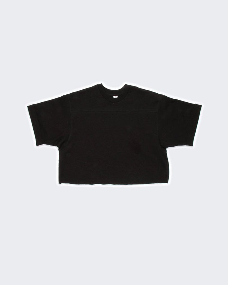 Cropped Football Tee