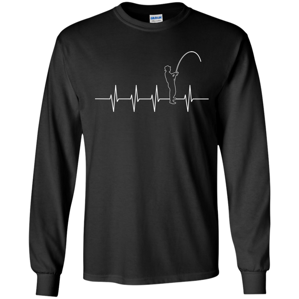Addicted Heartbeat Long Sleeve Cotton Tshirt