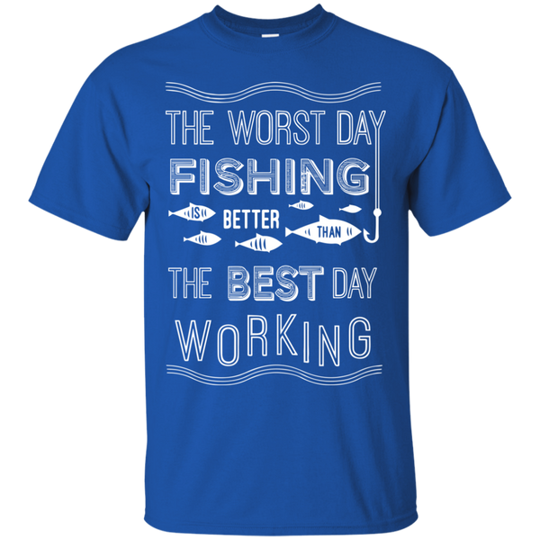 Worst Day Fishing is Better Than