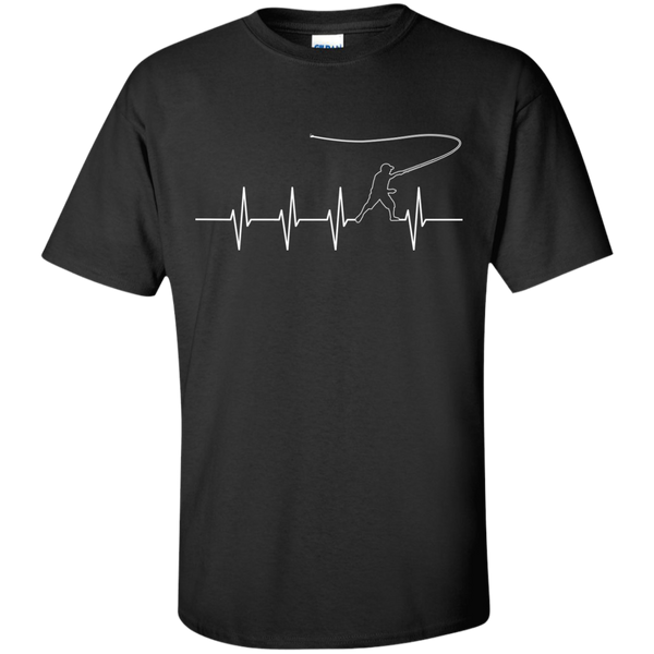 Fly Fishing Heartbeat - Ultra Cotton