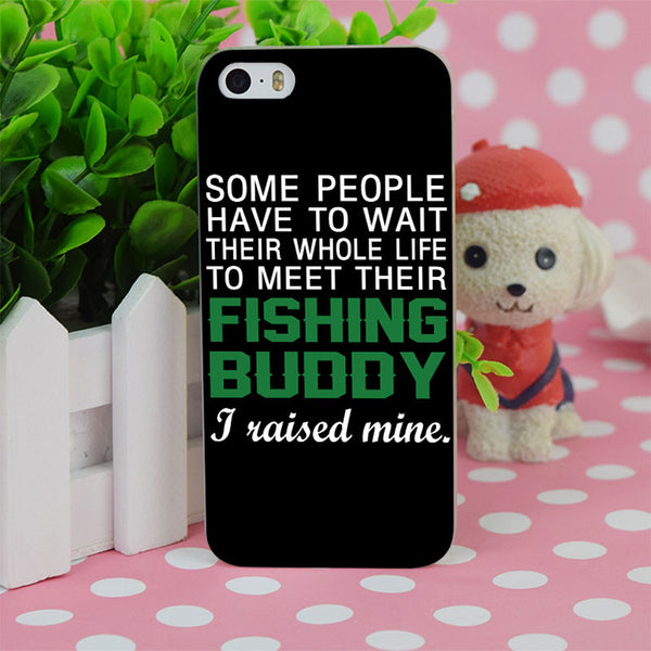 Fishing Buddy iPhone Case