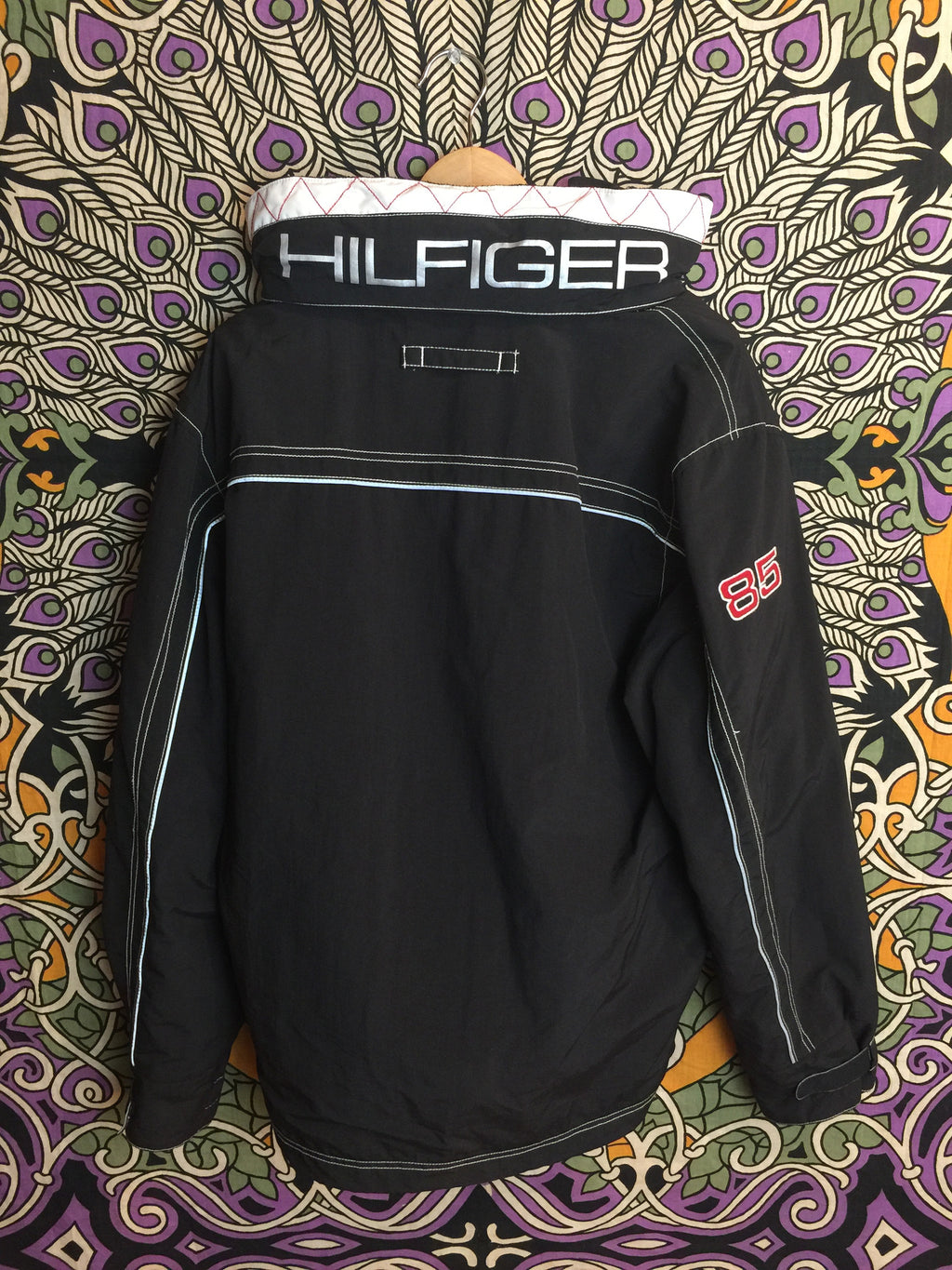 Tommy Hilfiger Collar Spell Out Lined Jacket