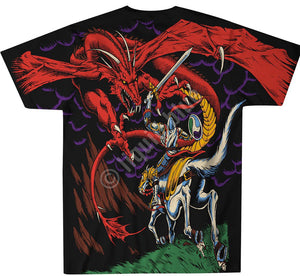 Liquid Blue Dragon T-Shirt