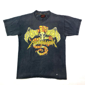 1991 METALLICA WHEREVER I MAY ROAM PUSHEAD T SHIRT SM