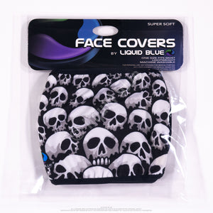 LIQUID BLUE SON OF SKULLS FACE COVER