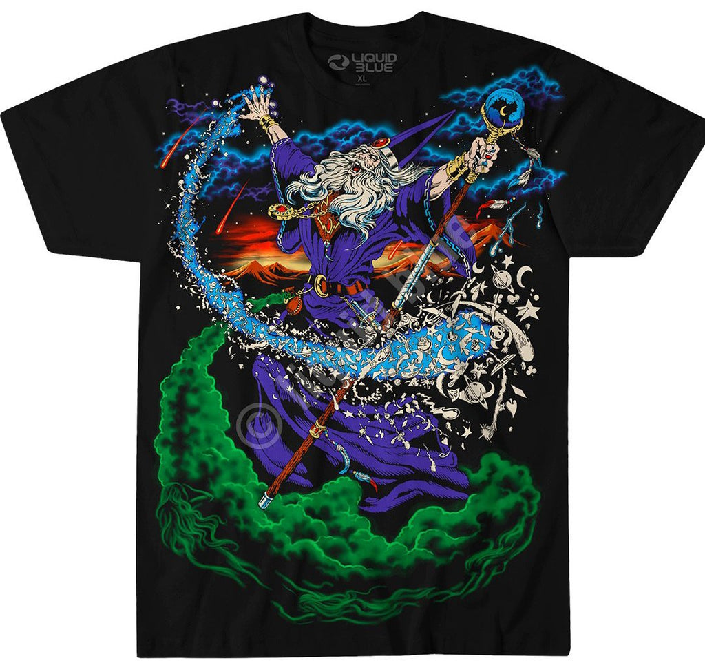 Liquid Blue Wizard T-Shirt