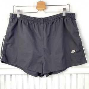 80's VINTAGE NIKE BLUE TAG RUNNING SHORTS XL